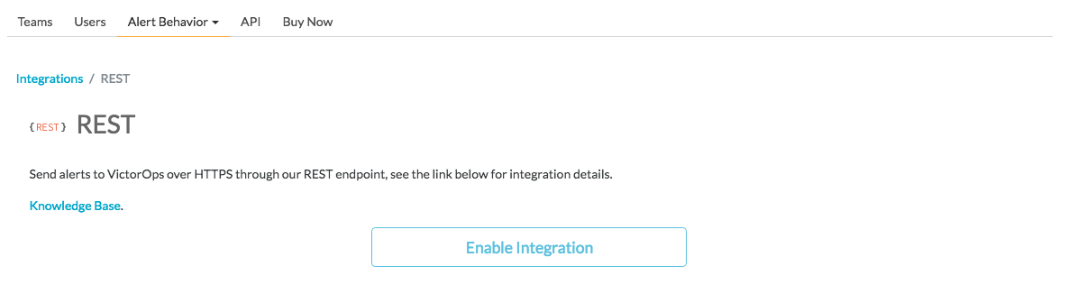 enable integration