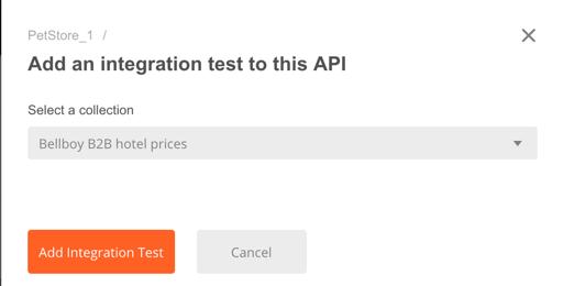 api add integration test