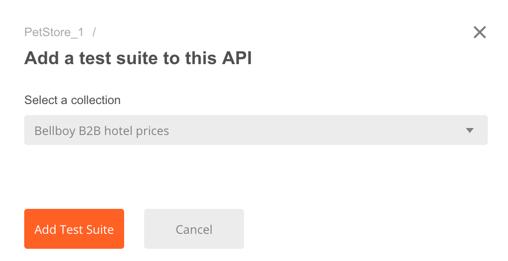 api add test suite