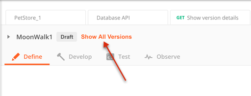 api all versions