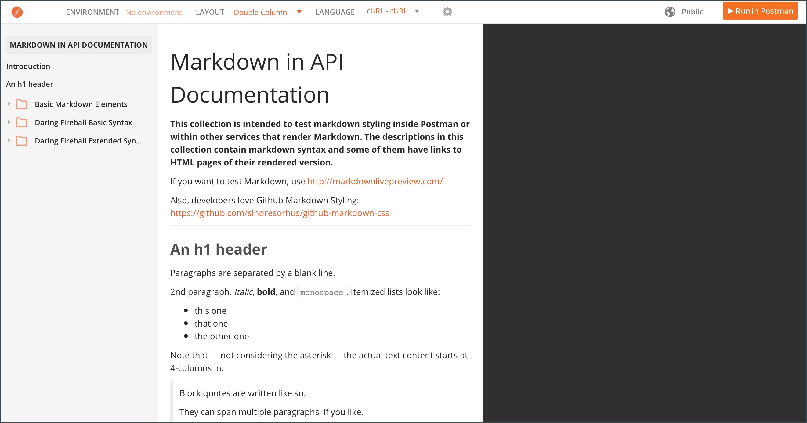 markdown reference