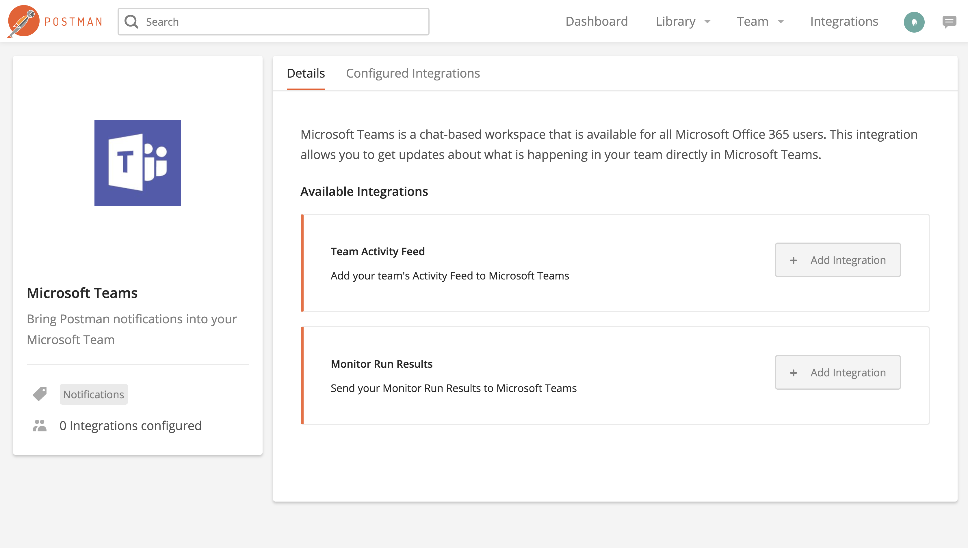 select ms_teams integration