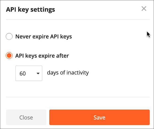 API Key Expires