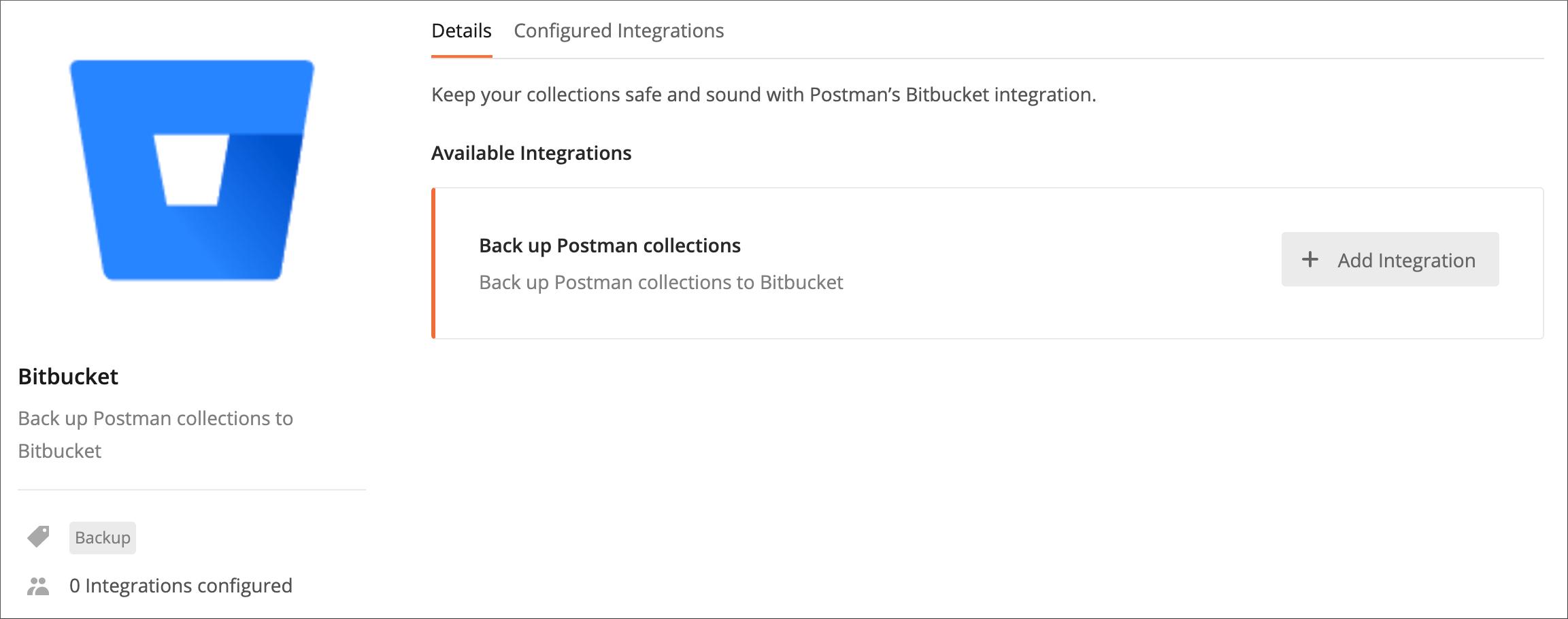 Bitbucket page
