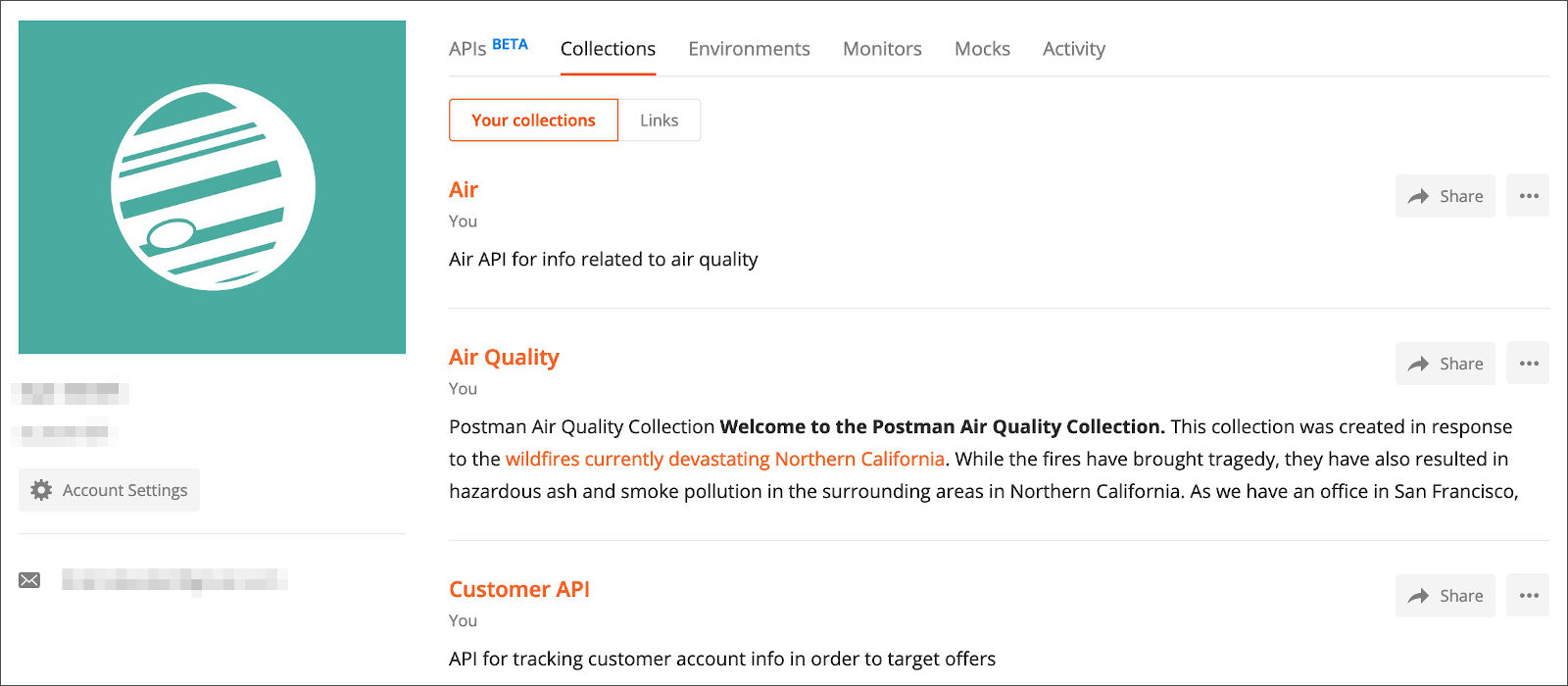 Collections in Web