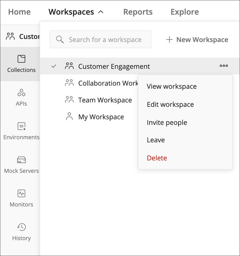 Default Workspace