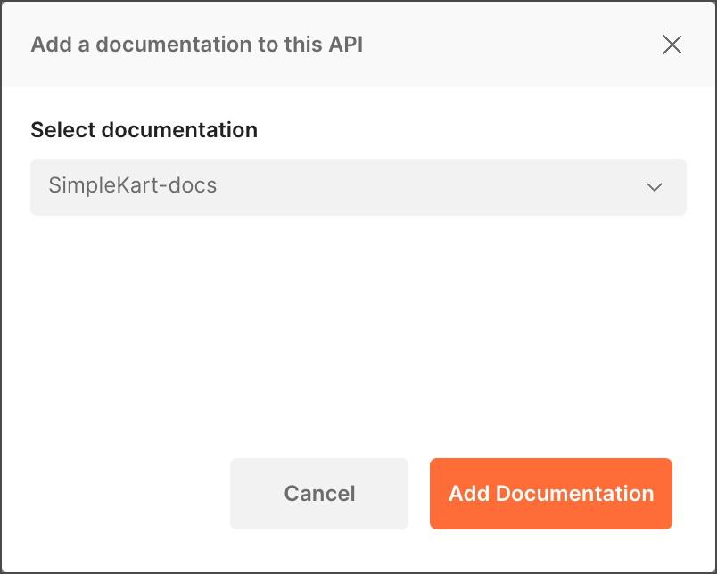 Adding existing API documentation