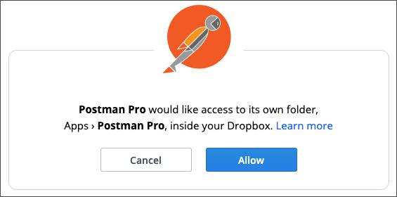 allow postman access