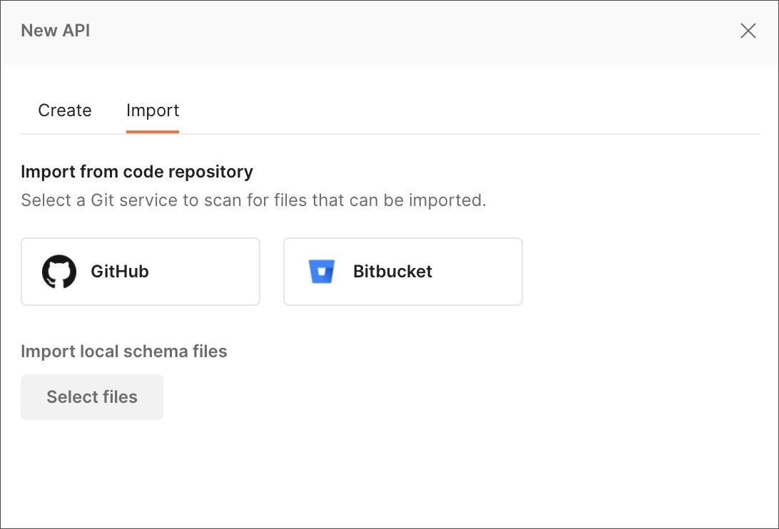 GitHub import