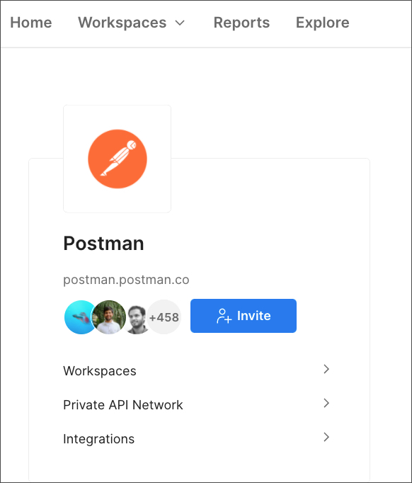 home page and integrations