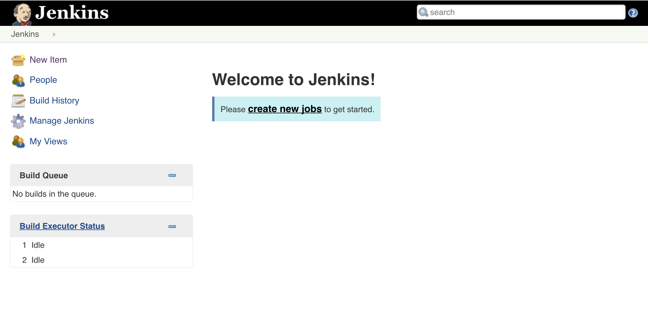 jenkins interface