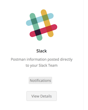 select slack integration