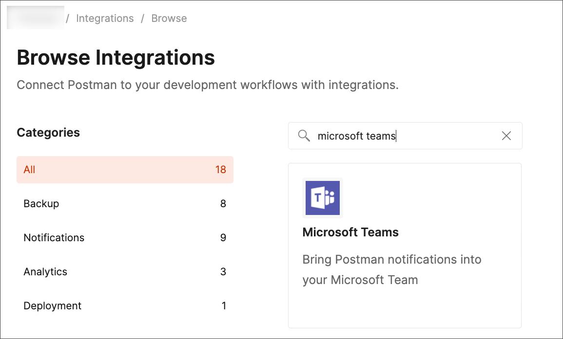 select ms_teams integration