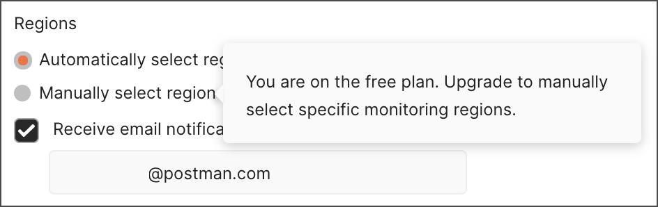 Upgrade for multi-region monitoring
