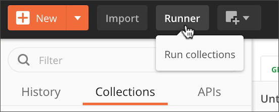 Open collection runner