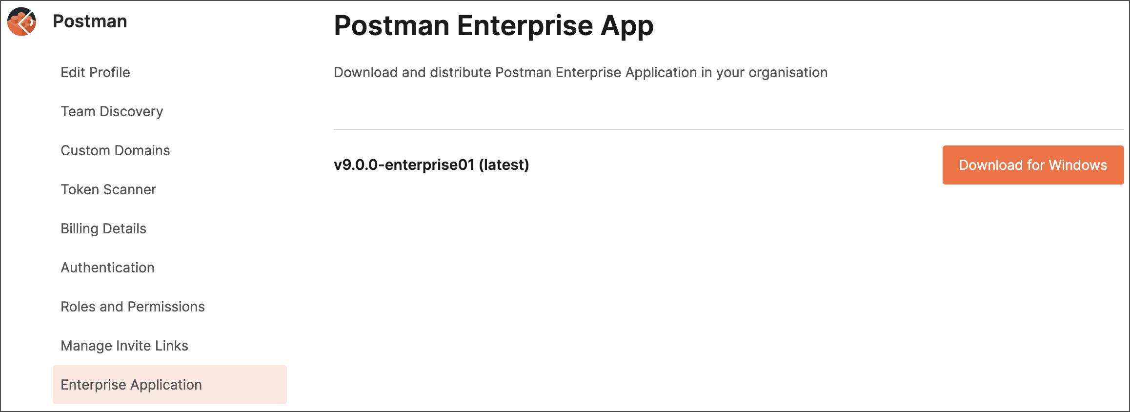 Postman Enterprise app download