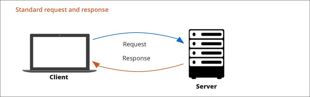 Standard request flow