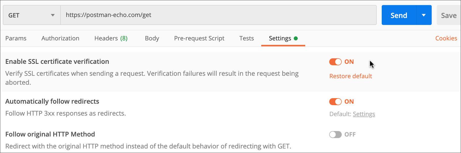 Request SSL