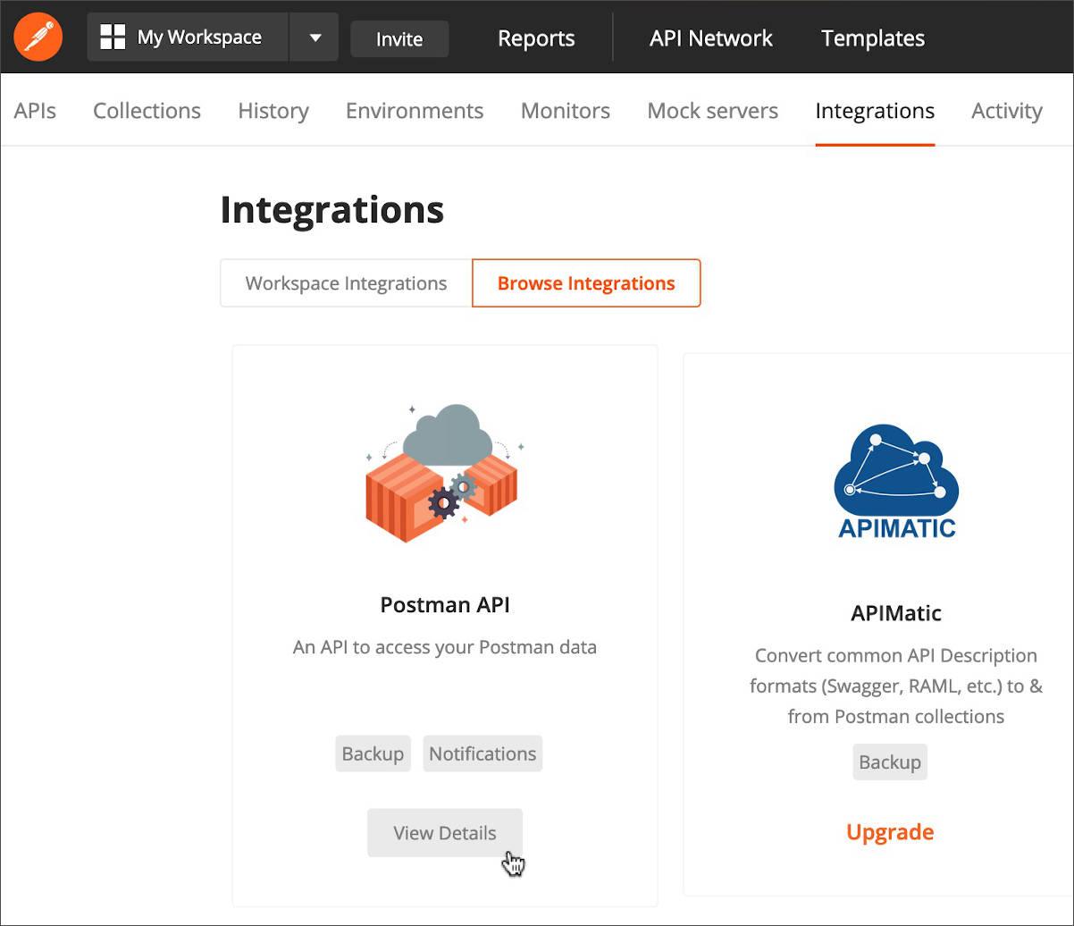 Workspace Integrations